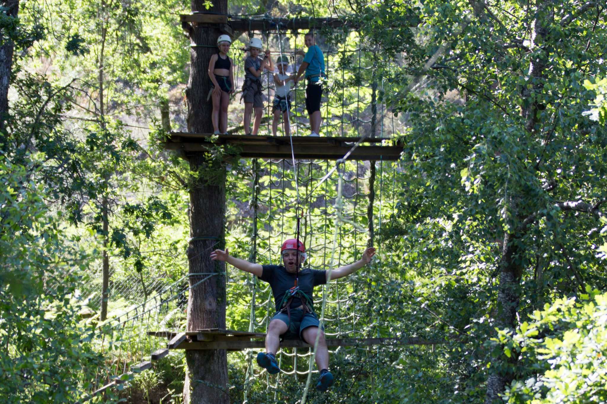 Parque aventura Parque Cerdeira