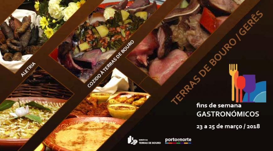 Fim de semana gastronómico Terras de bouro 2018