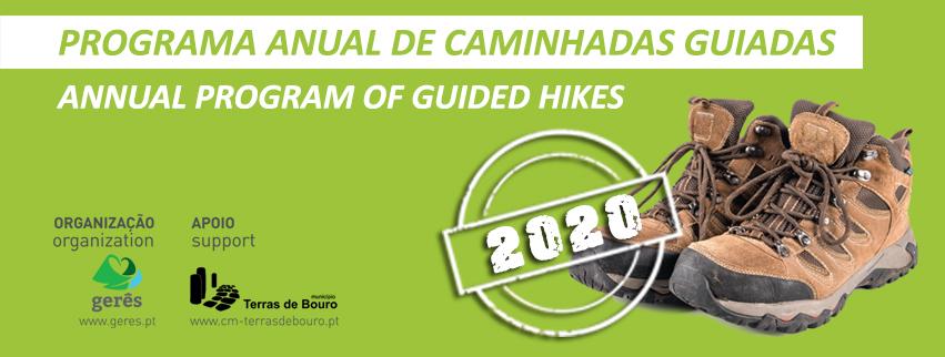 Programa anual de caminhadas 2020