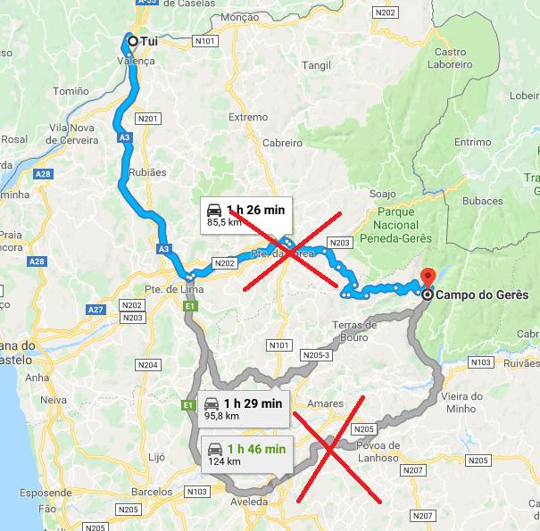 Mapa como chegar Caravanas