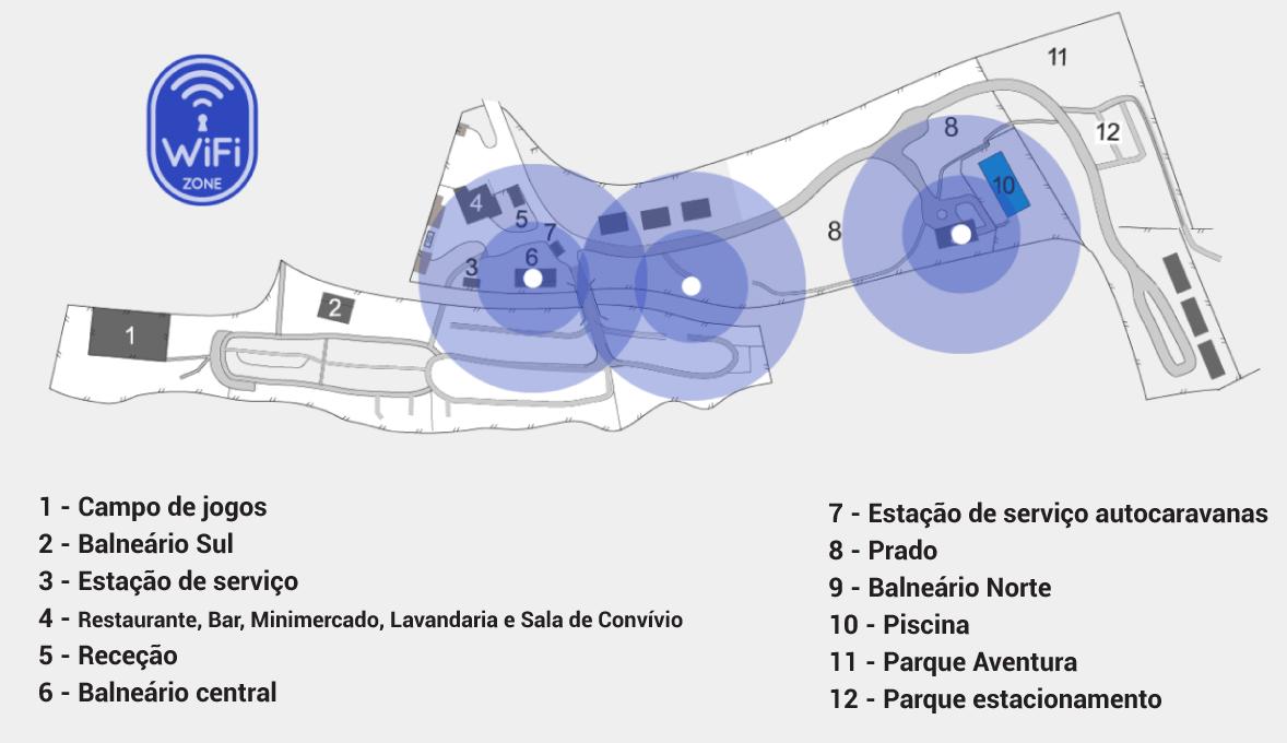 wi-fi Parque Cerdeira Gerês PT